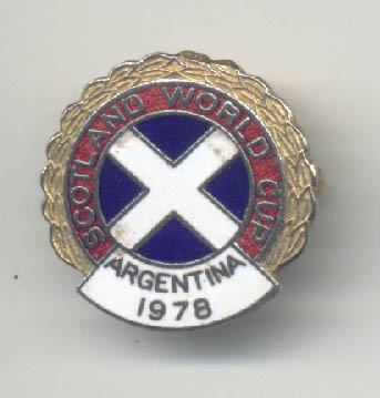 Scotland Football Team 1978 Argentina World Cup from the