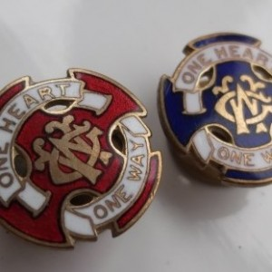 Acrylic Enamel Paint >> wesley guild one heart one way from the Badge Collectors ...