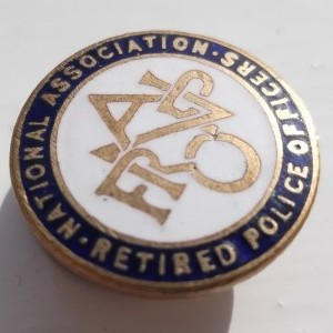 national association of retired police officers from the Badge
