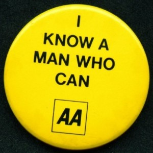 AA motoring; I Know a Man Who Can AA