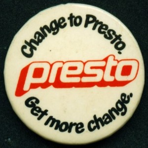 how to change username on presto