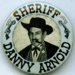 Danny Arnold Sheriff Danny Arnold wild west