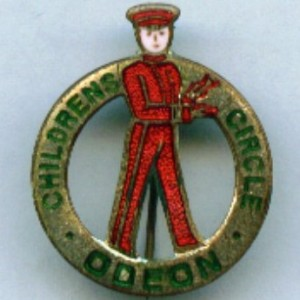 Odeon Childrens Circle from the Badge Collectors Circle ...