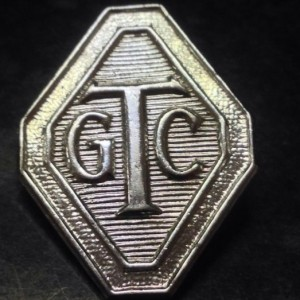 1940's Girls Training Corps GTC Pin Badge