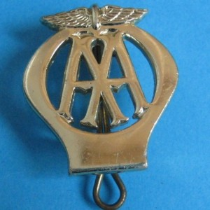 AA motor car vehicle rescue patrolman's cap badge