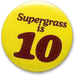 The Supergrass is 10 badge